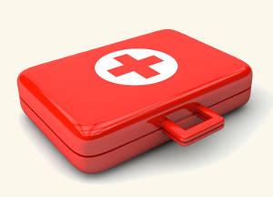 Ein Erste-Hilfe-Koffer. Bild von Marco Lachmann-Anke, Pixabay