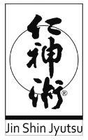 Jin Shin Jyutsu - Schriftzug vor einem Kreis, in einem Rechteck