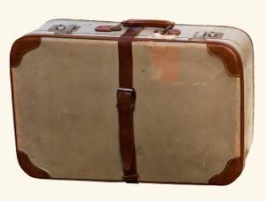 Ein alter Reisekoffer. Bild von Gerhard Gellinger, Pixabay